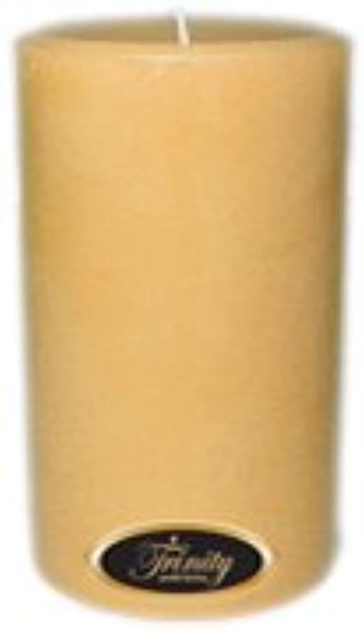 最小生き物まもなくTrinity Candle工場 – レザー – Pillar Candle – 4 x 6