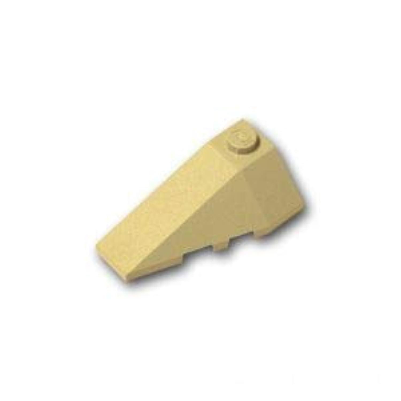 レゴブロック ばら売りパーツ ウェッジ 2 x 4 - 左:[Tan / タン] [並行輸入品]