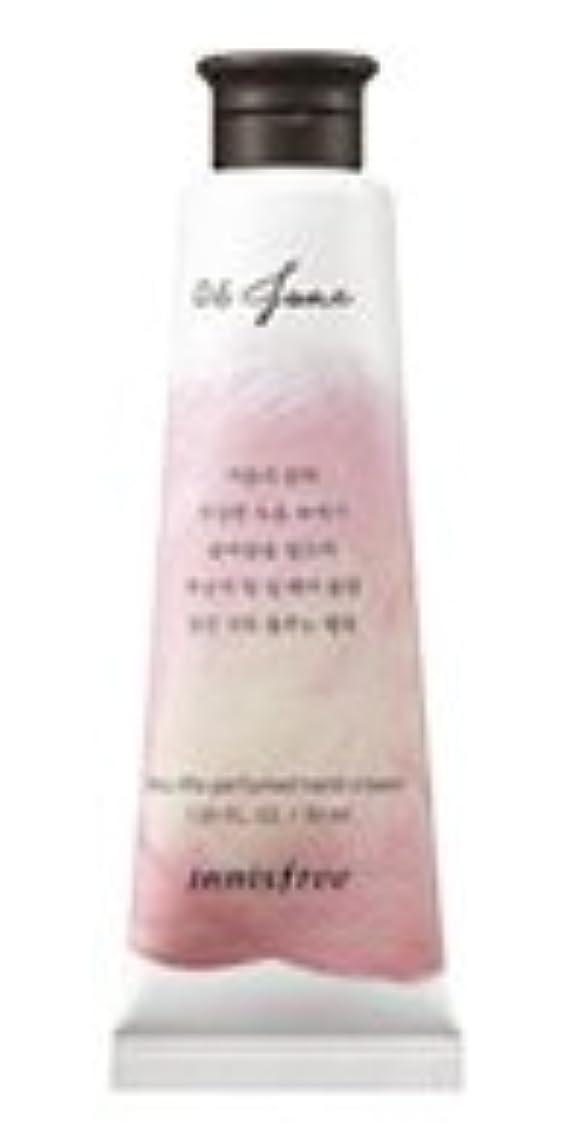 マイナーインチ祖父母を訪問Innisfree Jeju life Perfumed Hand Cream (6月 桃) / イニスフリー 済州ライフ パフューム ハンドクリーム 30ml [並行輸入品]