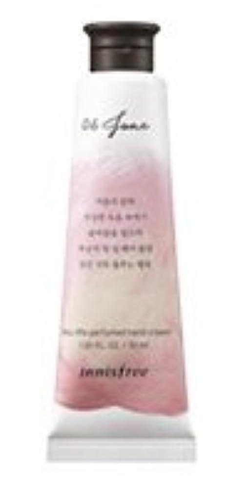 寄生虫範囲代わりのInnisfree Jeju life Perfumed Hand Cream (6月 桃) / イニスフリー 済州ライフ パフューム ハンドクリーム 30ml [並行輸入品]