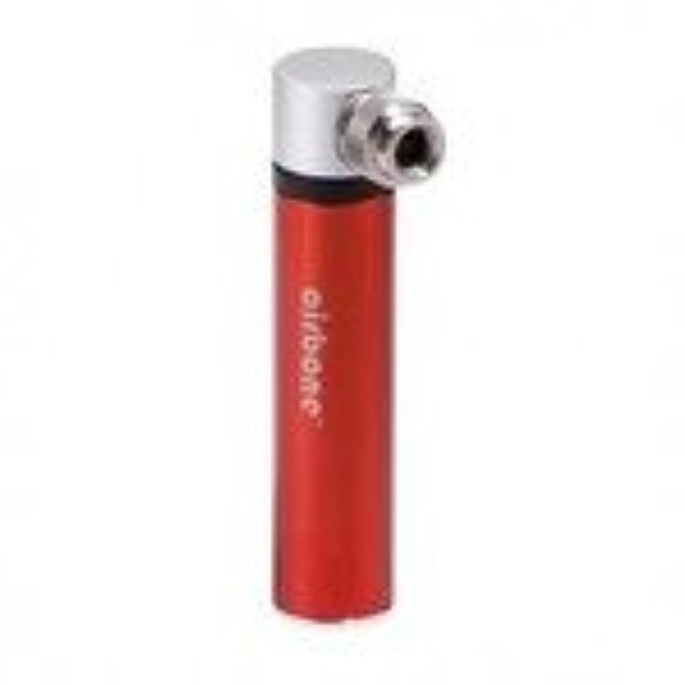 コミュニケーションマイクロプロセッサ駐地(エアボーン/airbone)(自転車用空気入れ)スーパーミニポンプ (カラー) オレンジ
