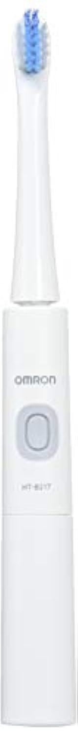 利得床提案するオムロン 音波式電動歯ブラシ HT-B217-W HT-B217-W