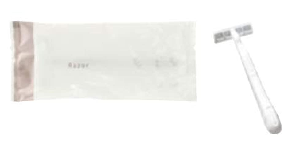 財団サイトライン透明にカミソリ ディアリーフ カミソリ シック 2枚刃 SS-2 2000本