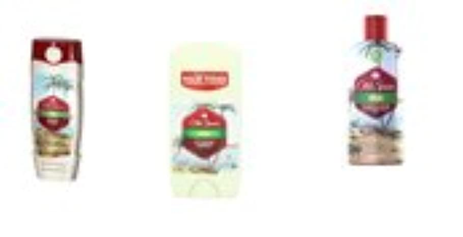 仕事トランジスタ領域Old Spice Fiji オールドスパイスボディウォッシュ シャンプー デオドラントセット 並行輸入品