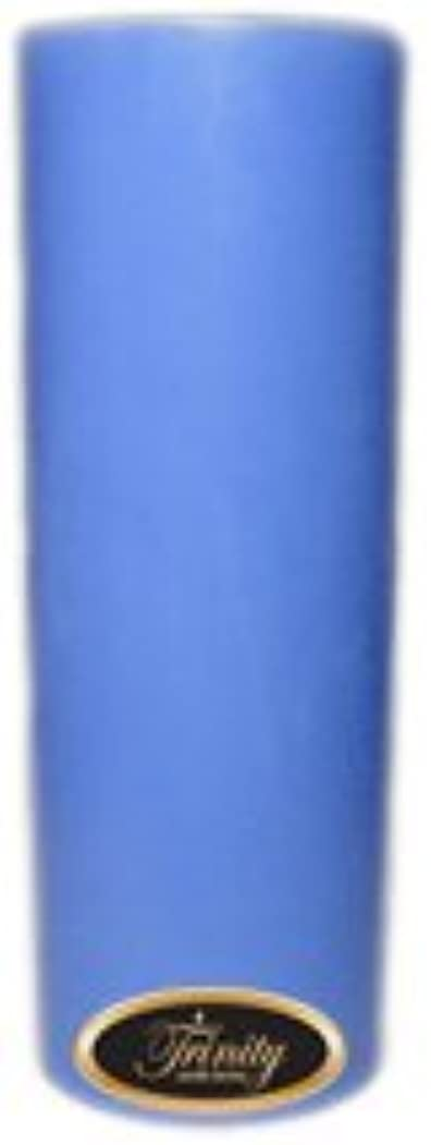 伝統細菌申し立てるTrinity Candle工場 – ベビーパウダー – ブルー – Pillar Candle – 3 x 9