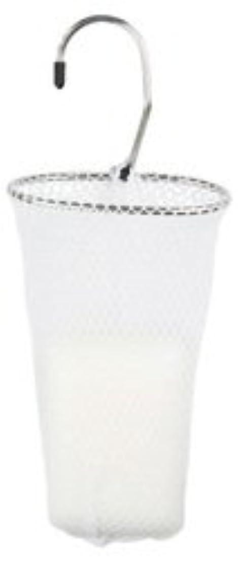 ギャザーカルシウム勃起石けんネット リングタイプ 10枚組 ホワイト