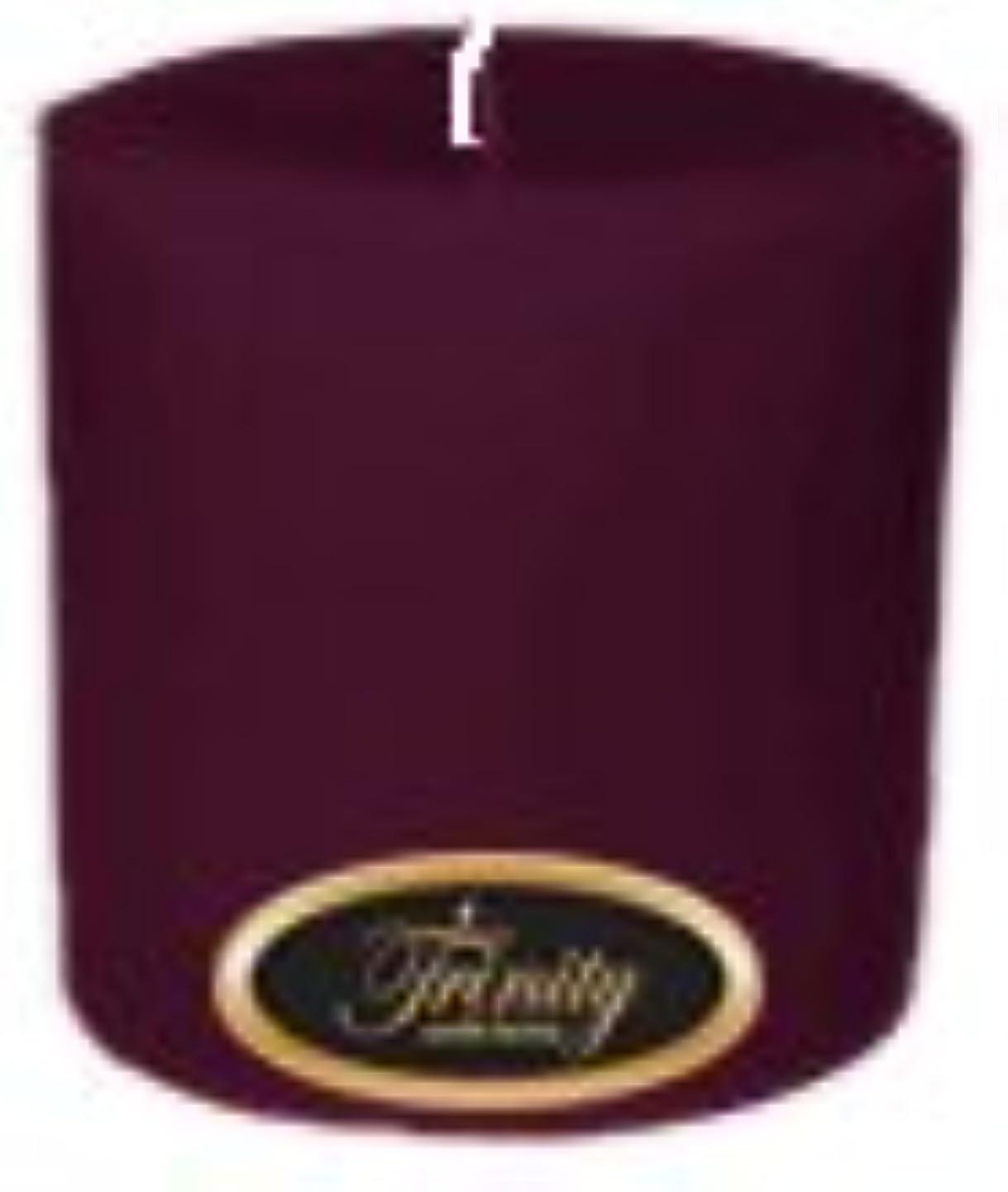蓋洞察力のある呼吸Trinity Candle工場 – Wisteria – Pillar Candle – 4 x 4