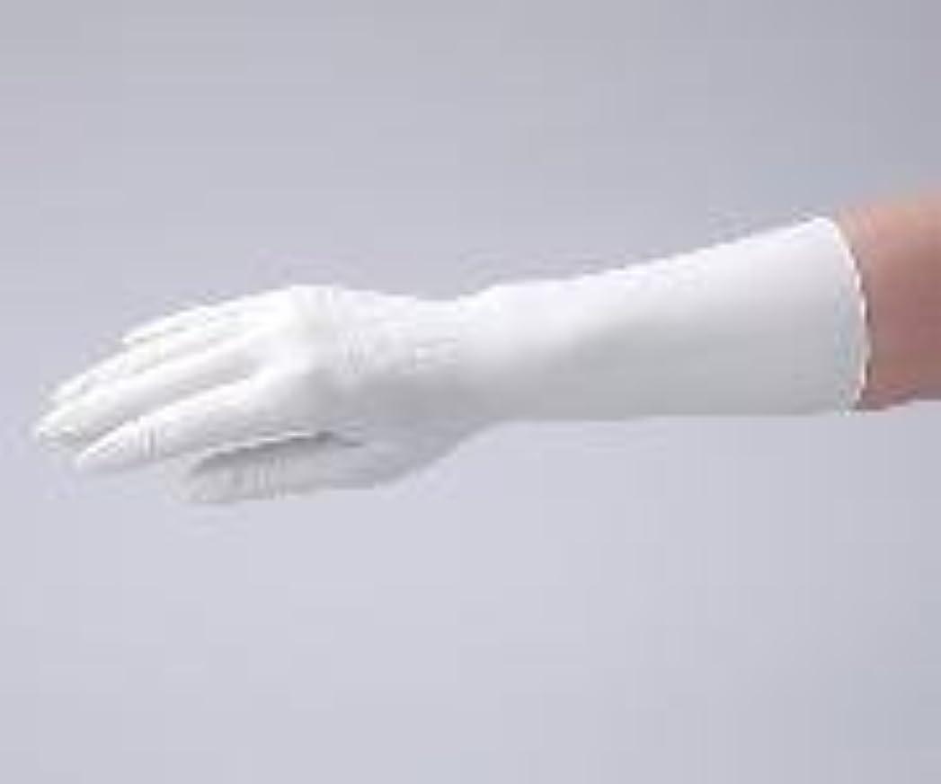 夕方折る敬なアズワン1-2323-02クリーンノールニトリル手袋(ペアタイプ)S左右各100枚入