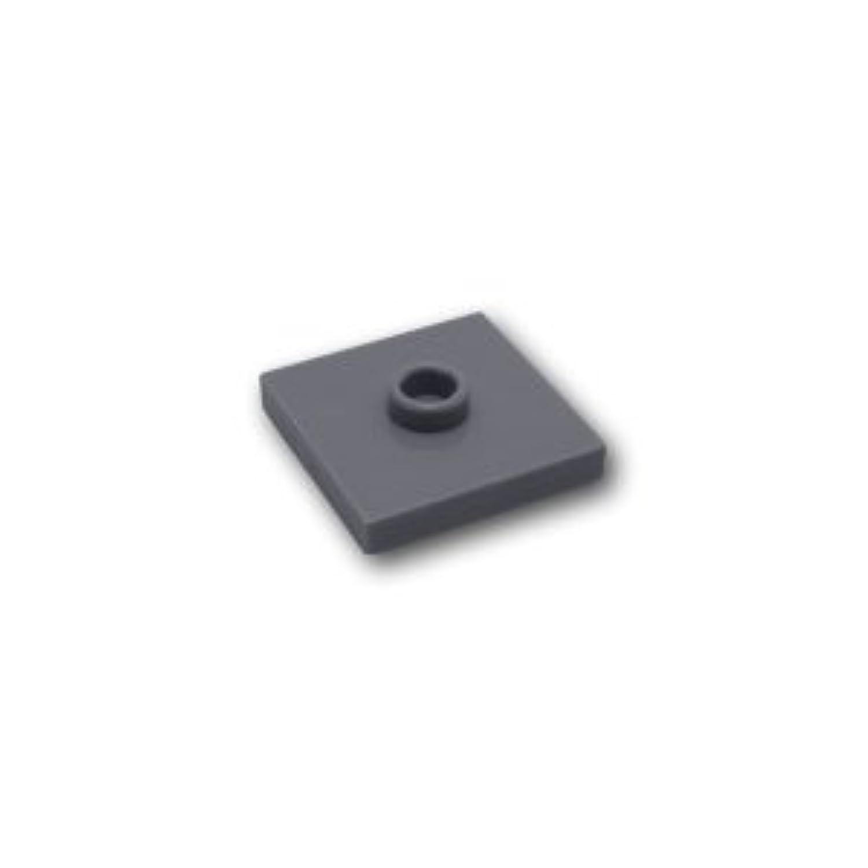 レゴブロックパーツ タイル 2 x 2 センタースタッド:[Dark Bluish Gray / ダークグレー]【並行輸入品】