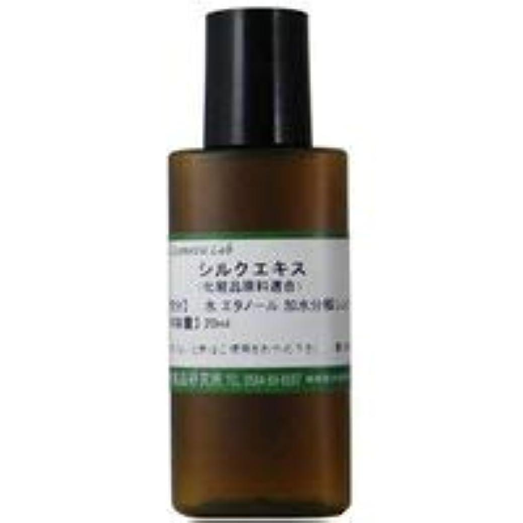 鯨置き場習熟度シルクエキス 化粧品原料 20ml