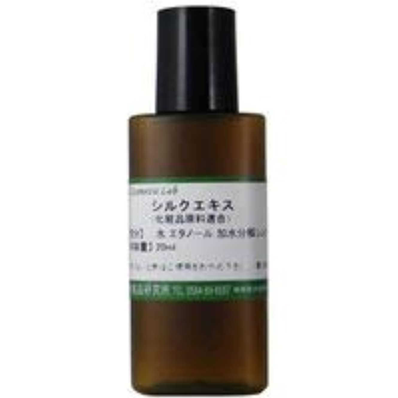 中級可塑性ノベルティシルクエキス 20ml 【手作り化粧品原料】