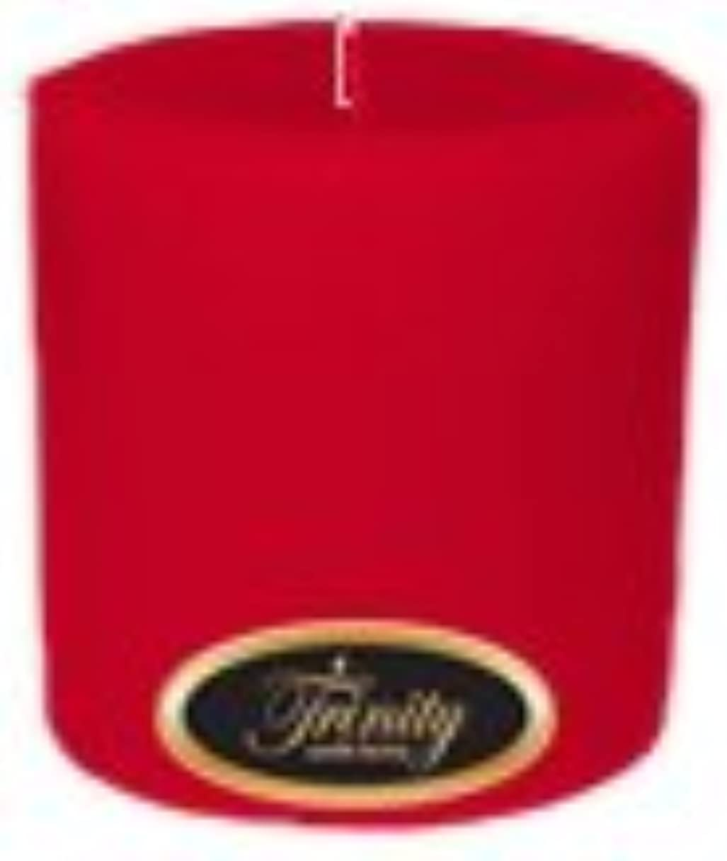 医学宿泊施設オートマトンTrinity Candle工場 – Holly Berry – Pillar Candle – 4 x 4