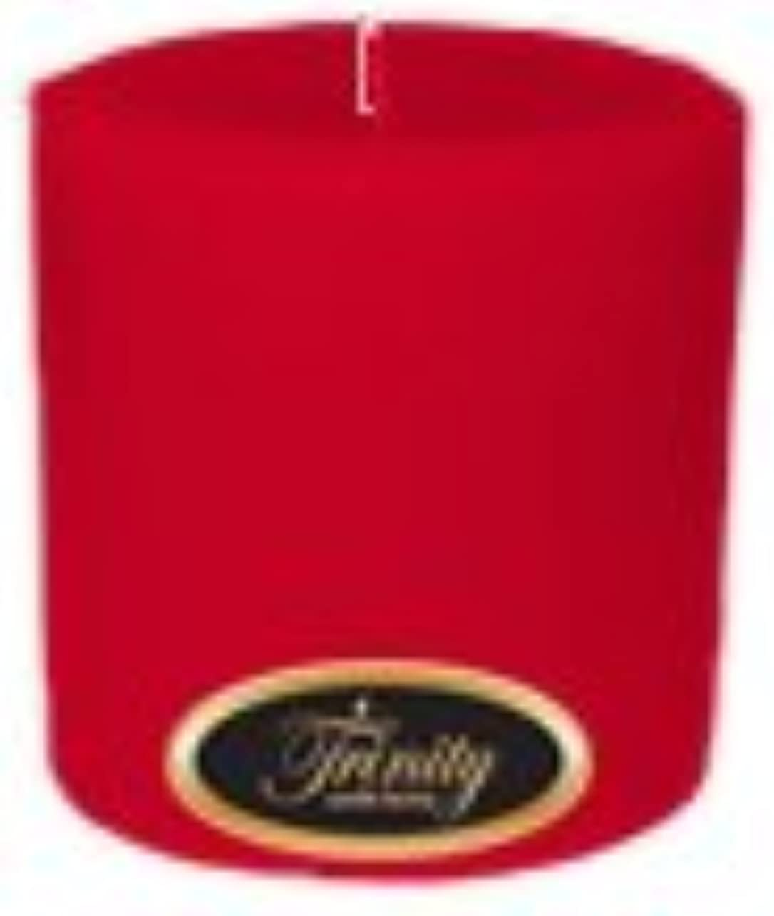 お別れ彼らはクリークTrinity Candle工場 – Holly Berry – Pillar Candle – 4 x 4