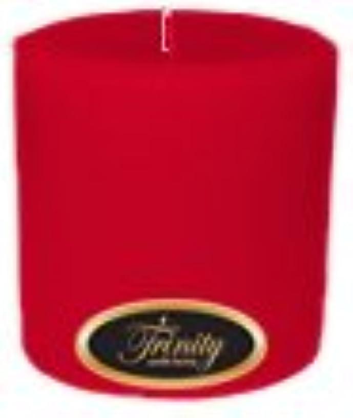フライカイト覆すTrinity Candle工場 – Holly Berry – Pillar Candle – 4 x 4