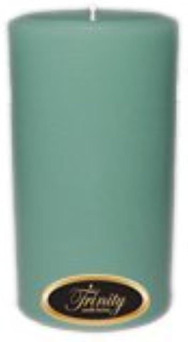 裁判官スポット代数的Trinity Candle工場 – Morning Mist – Pillar Candle – 3 x 6