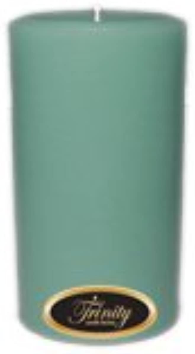 生息地合成コミットTrinity Candle工場 – Morning Mist – Pillar Candle – 3 x 6