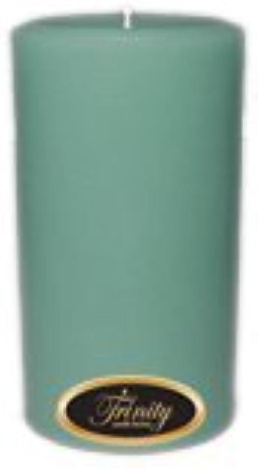大型トラック終点登録するTrinity Candle工場 – Morning Mist – Pillar Candle – 3 x 6