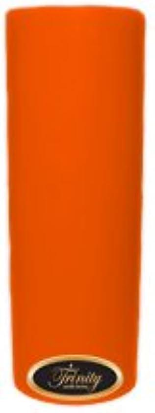 バレーボール換気する集団Trinity Candle工場 – フロリダオレンジ – Pillar Candle – 3 x 9
