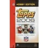 2006 Topps FootballカードUnopened趣味パック( 12カード/パック)
