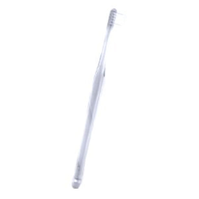 疲れた有彩色のせっかちペンフィット PENFIT 歯ブラシ 1本 クリア