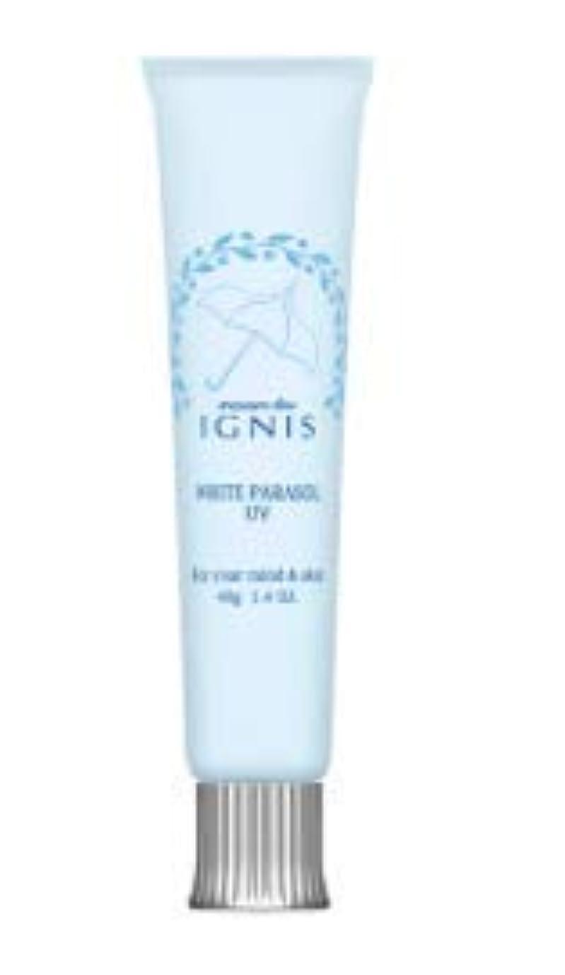 ペインギリック九時四十五分最小化するイグニス ホワイトパラソル UV_40g_SPF26?PA+