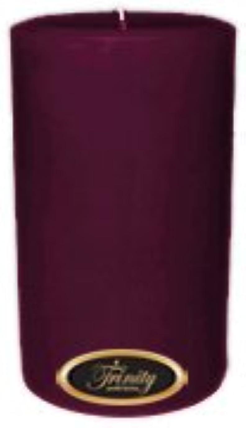共役歯科のめんどりTrinity Candle工場 – Wisteria – Pillar Candle – 4 x 6