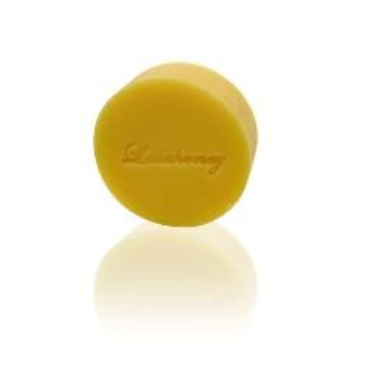 おっと標高うめき声LALAHONEY 石鹸〈柚子の香り〉40g【手作りでシンプルなコールドプロセス製法】