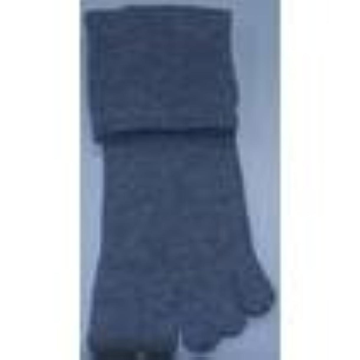 認知聴覚障害者証言する足裏安定5本指靴下(M(24-26cm), グレー)