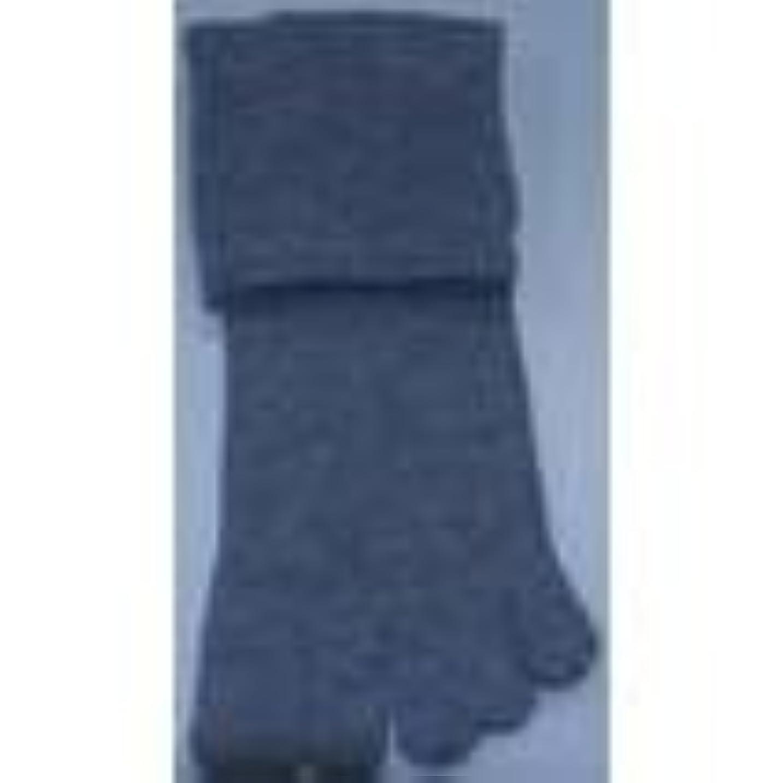 挑発するペース降雨足裏安定5本指靴下(L(26-28cm), グレー)