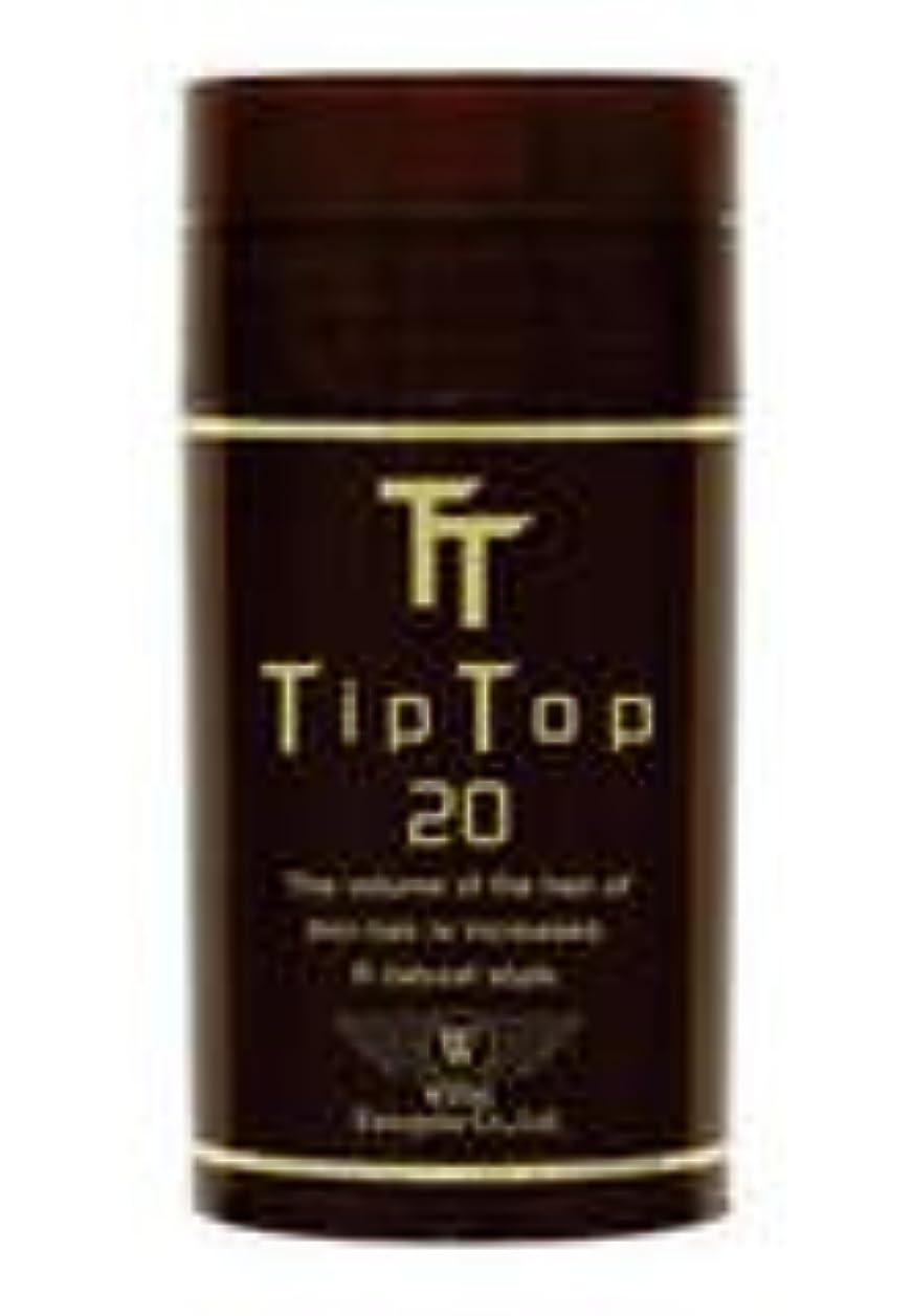 細心の六石膏ティップトップ20 20g 高品質な特殊繊維 (フルだけ瞬間薄毛ケア) No10:ブラウン