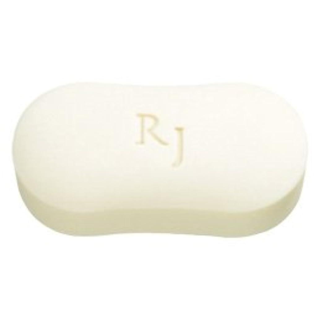 政治家の疑いスーパーマーケットRJホワイトソープ(洗顔石鹸?ボディソープ) 脂性肌用 120g/Royal Jelly White Soap<120g>