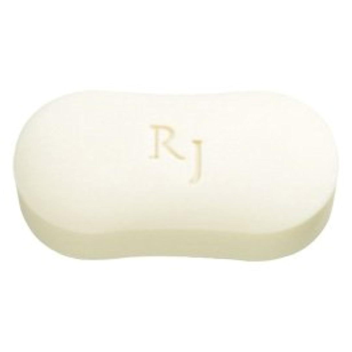 赤字きれいに馬鹿げたRJホワイトソープ(洗顔石鹸?ボディソープ) 脂性肌用 120g/Royal Jelly White Soap<120g>