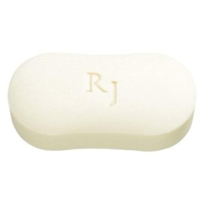 引き算映画ローブRJホワイトソープ(洗顔石鹸?ボディソープ) 脂性肌用 120g/Royal Jelly White Soap<120g>