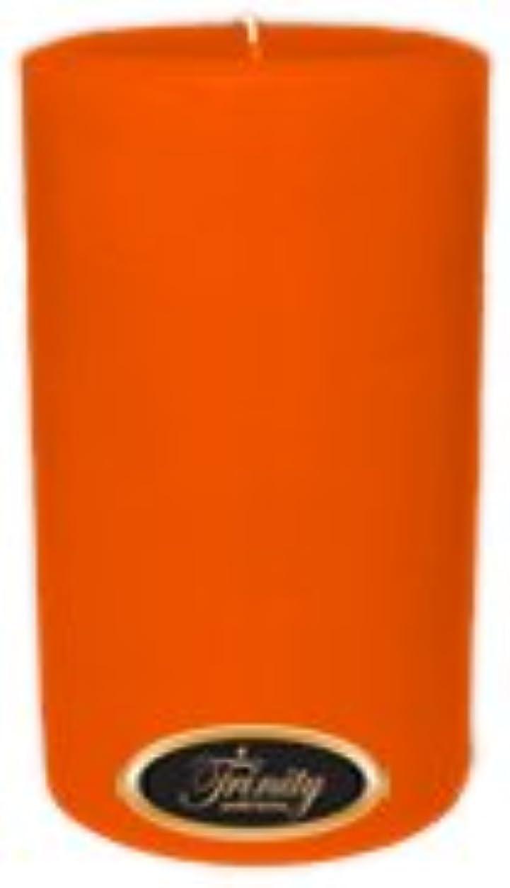 疫病機会レビュアーTrinity Candle工場 – フロリダオレンジ – Pillar Candle – 4 x 6