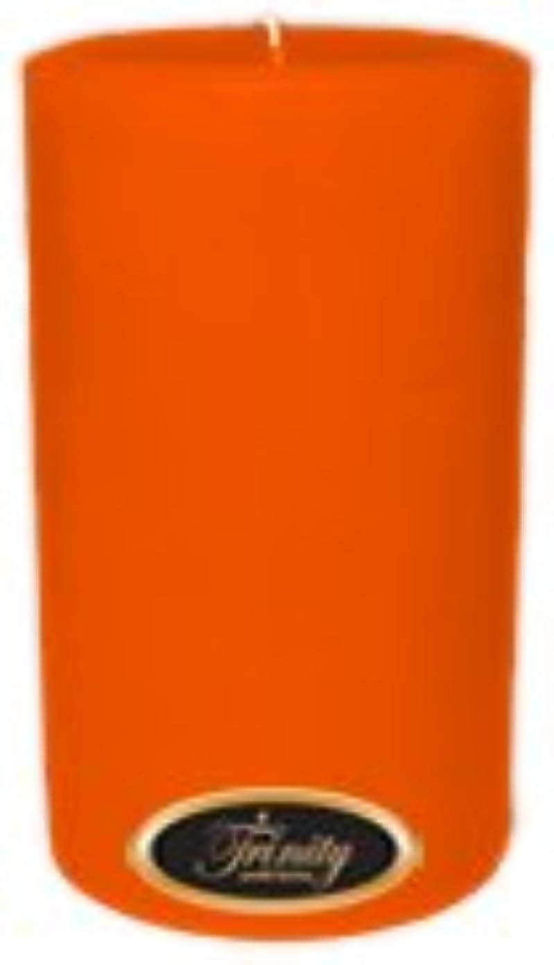 堤防申し込むファンタジーTrinity Candle工場 – フロリダオレンジ – Pillar Candle – 4 x 6