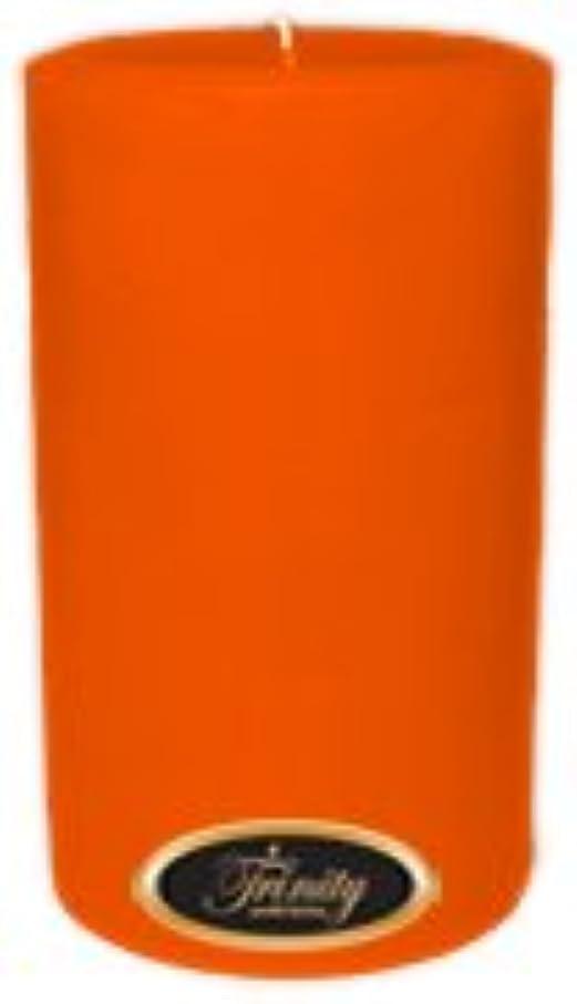 近傍ジャベスウィルソンライセンスTrinity Candle工場 – フロリダオレンジ – Pillar Candle – 4 x 6
