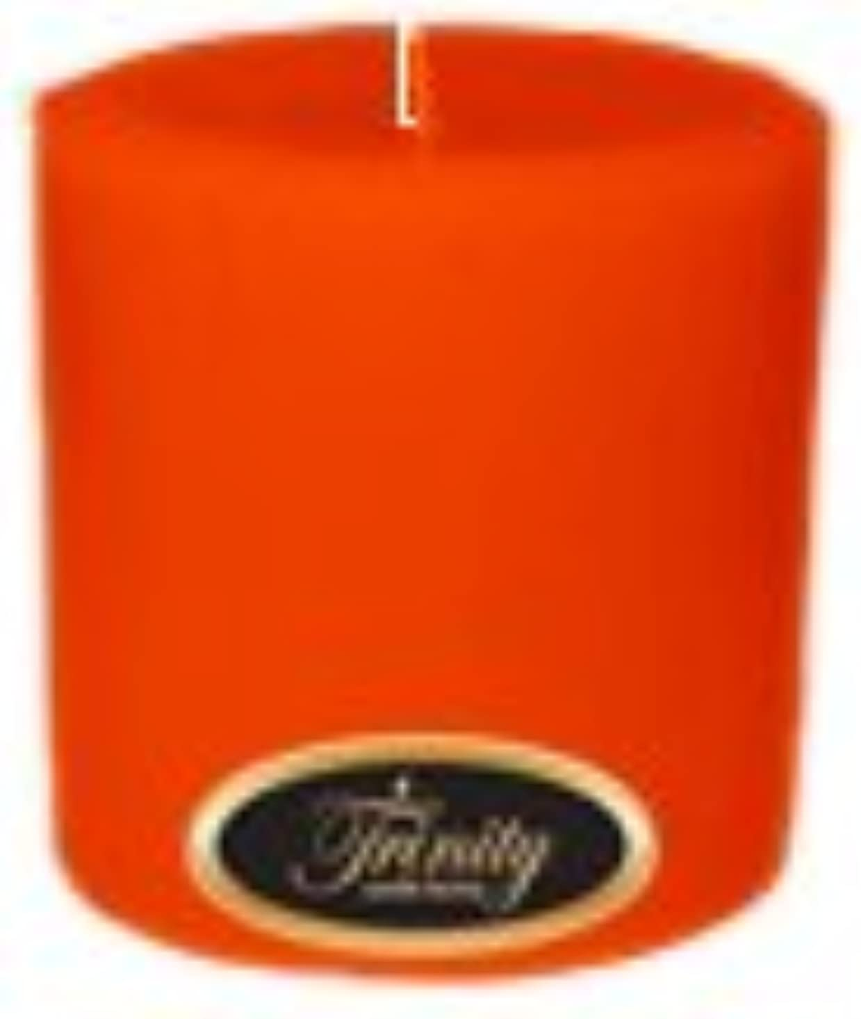 右右サイレンTrinity Candle工場 – Pumpkin Pie – Pillar Candle – 4 x 4