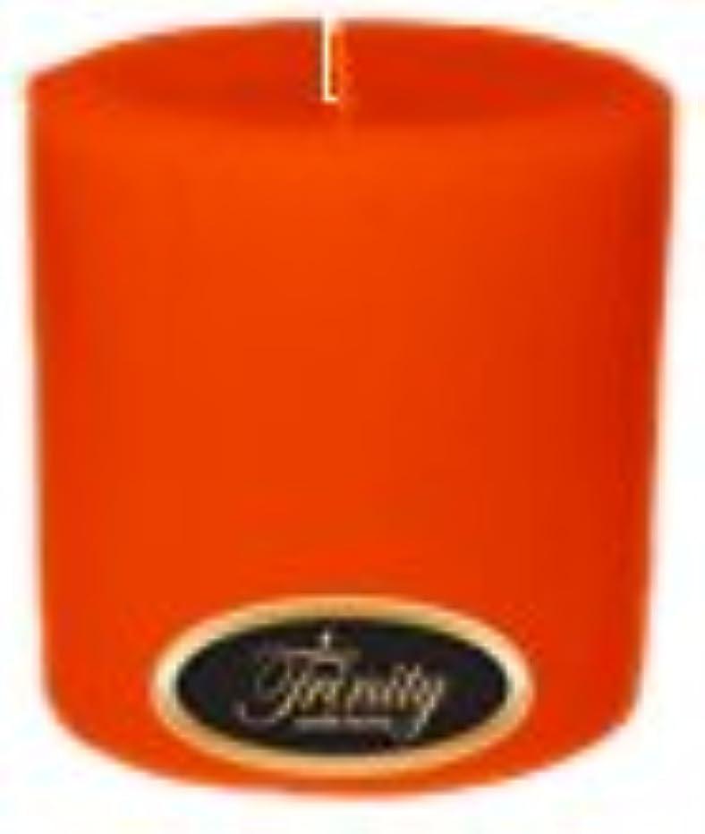 思い出すバンクアクティブTrinity Candle工場 – Pumpkin Pie – Pillar Candle – 4 x 4