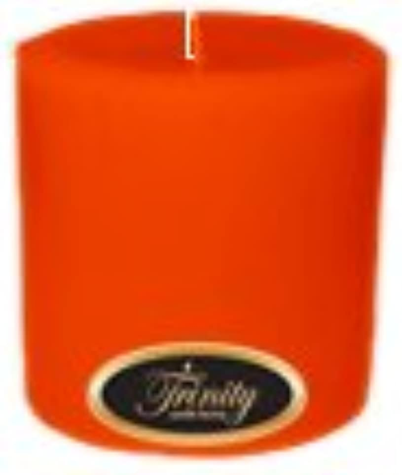 好奇心盛長方形オンTrinity Candle工場 – Pumpkin Pie – Pillar Candle – 4 x 4
