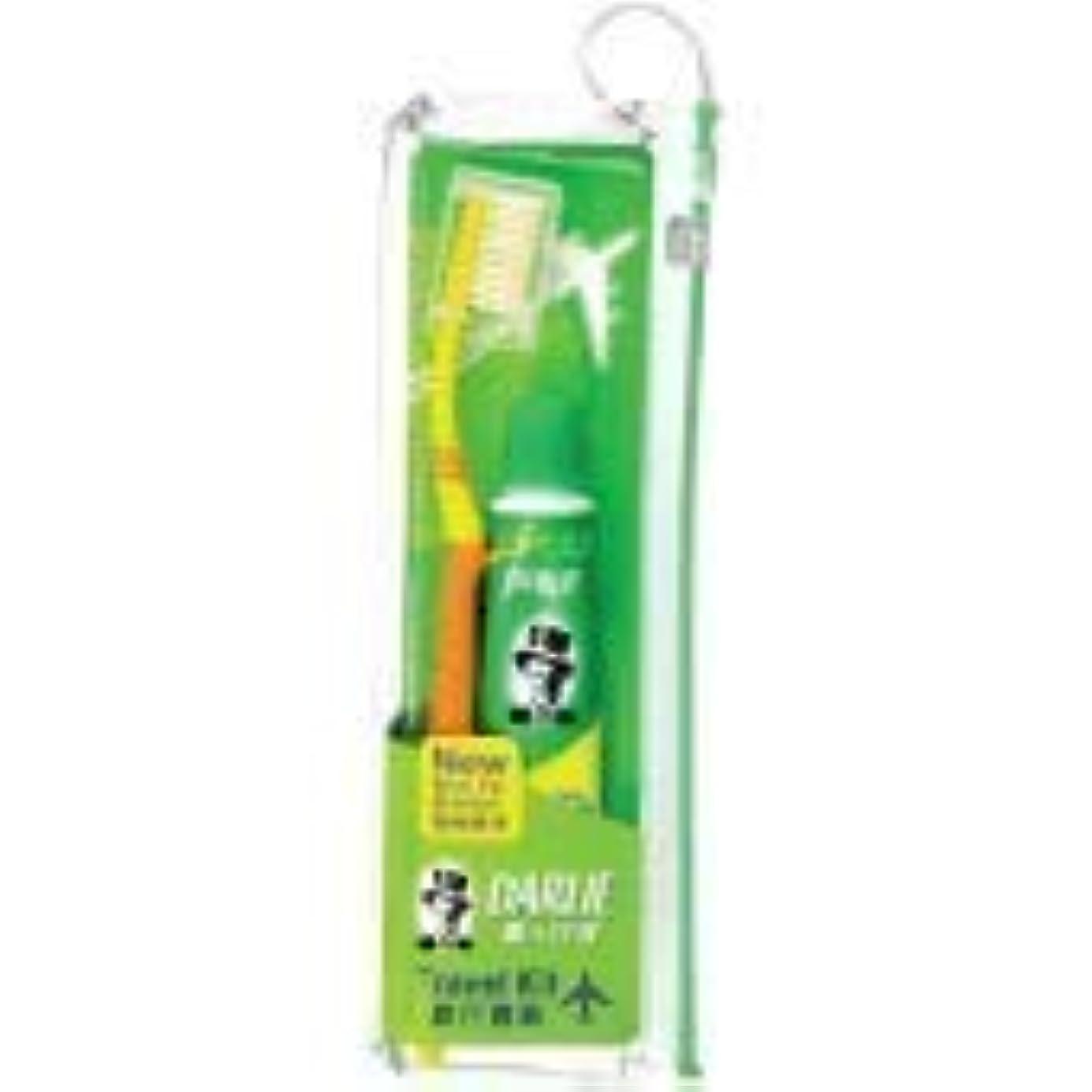 純粋なご近所領事館DARLIE 歯ブラシ旅行キット大人用媒体1 - 頻繁な旅行者にとって、シンプルさは不可欠です。ダリーダブルアクショントラベルキット
