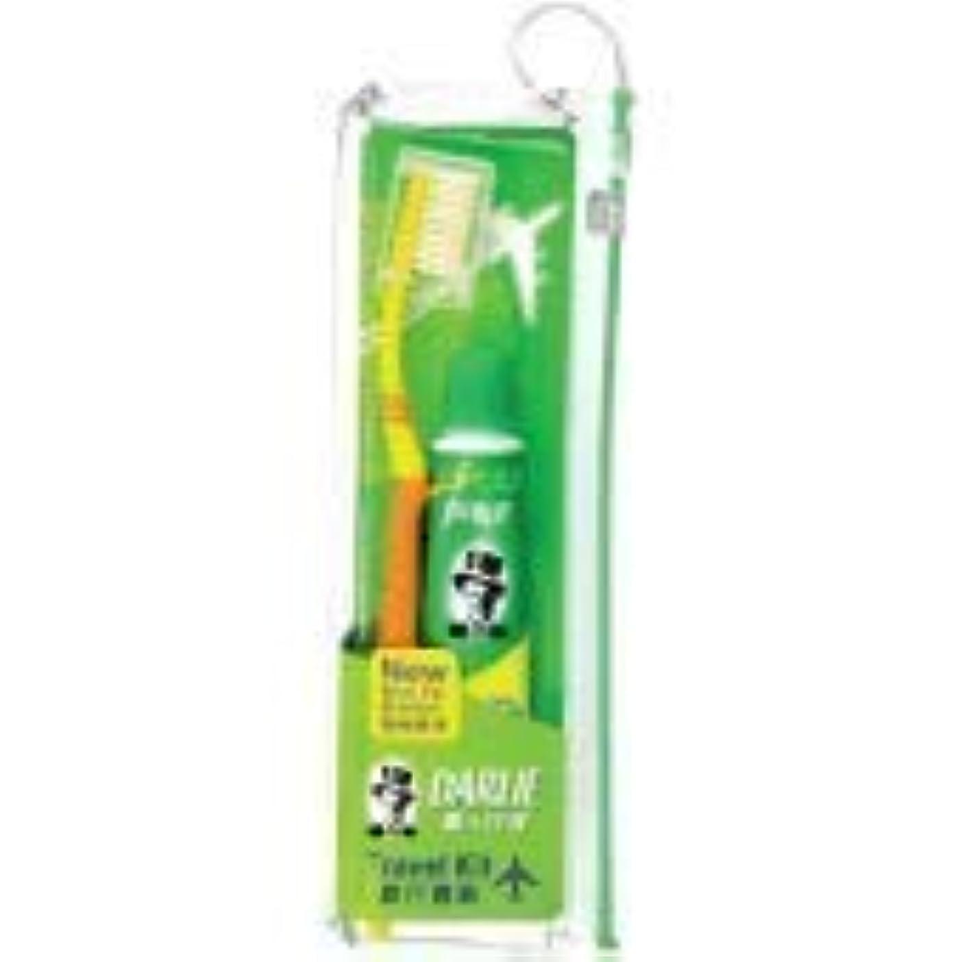 プロポーショナルエステート包帯DARLIE 歯ブラシ旅行キット大人用媒体1 - 頻繁な旅行者にとって、シンプルさは不可欠です。ダリーダブルアクショントラベルキット