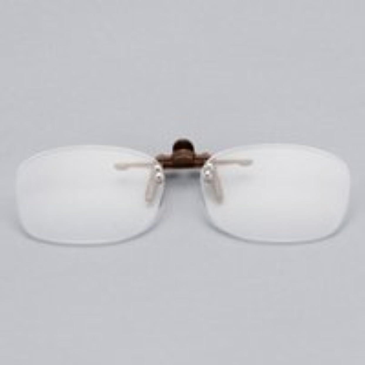 クリップオン 老眼鏡 メガネ装着 取り外し可能 クリップタイプ carton カートン 【「S+2.00」のみ】 S+2.00