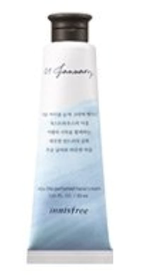 前提障害設置Innisfree Jeju life Perfumed Hand Cream (1月 ゲストハウスランドリー) / イニスフリー 済州ライフ パフューム ハンドクリーム 30ml [並行輸入品]