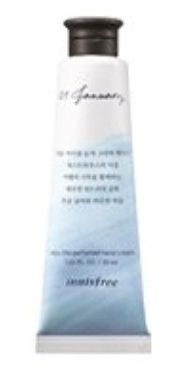 年次ぴかぴかモジュールInnisfree Jeju life Perfumed Hand Cream (1月 ゲストハウスランドリー) / イニスフリー 済州ライフ パフューム ハンドクリーム 30ml [並行輸入品]