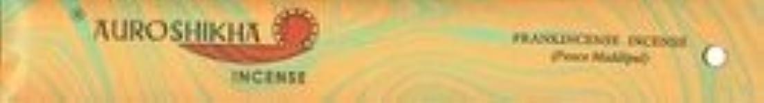回転するばかげている要塞Auroshikha Incense - Frankincense - Classic Marble Incense [並行輸入品]