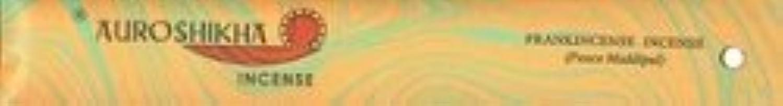 起訴するバンケット地質学Auroshikha Incense - Frankincense - Classic Marble Incense [並行輸入品]