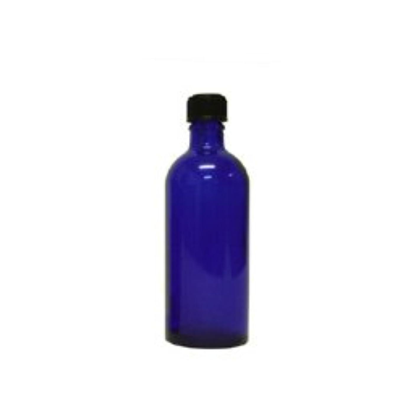 郵便物昇進フェンス青色遮光ビン 100ml (ドロッパー付)