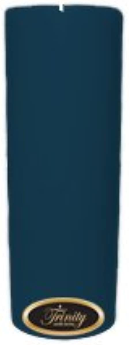 コーンウォール限定おTrinity Candle工場 – French Market – Pillar Candle – 3 x 9