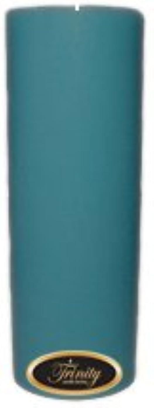 未亡人シティ強風Trinity Candle工場 – マウイBreeze – Pillar Candle – 3 x 9