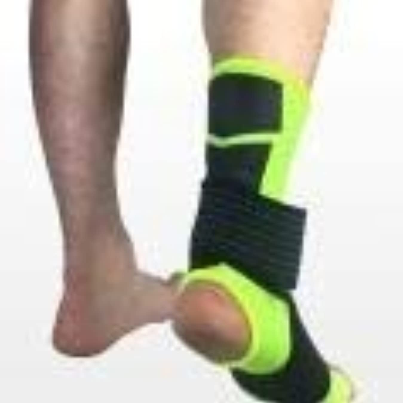 覚えている赤ちゃん連邦スポーツ足首装具圧縮サポートスリーブw/無料足首ストラップアキレス腱サポート、靭帯損傷の足首サポート (Color : B, Size : S)